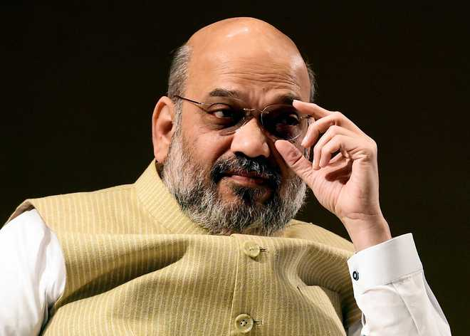NSUI files 'missing person' report with police on Amit Shah
