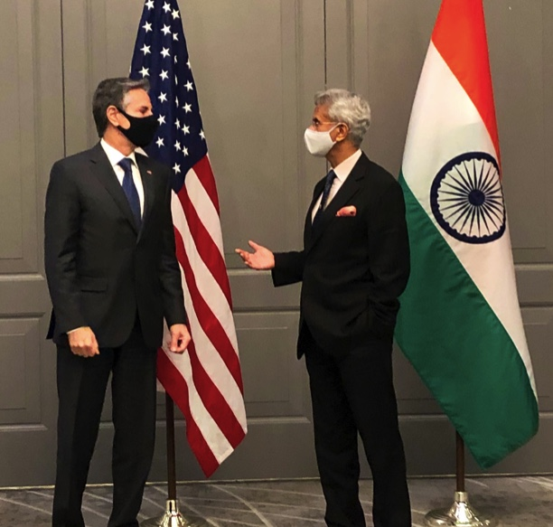 Jaishankar meets Blinken on Covid relief