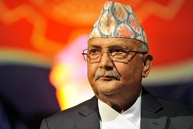 K P Sharma Oli sworn in as Nepal Prime Minister