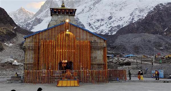Portals of Kedarnath open; first puja held on behalf of PM Modi