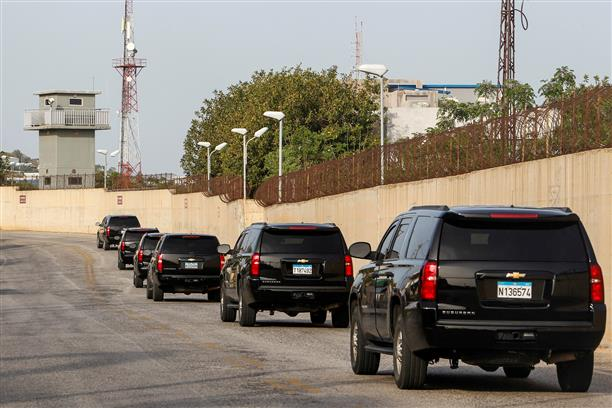 Lebanon and Israel resume indirect talks on maritime border