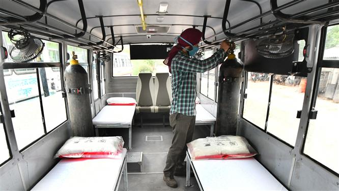Covid-19: Chandigarh fixes rates of private ambulance