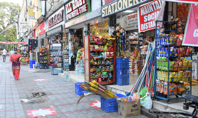 Shops selling non-essential items to remain closed in Chandigarh from 5 pm Tuesday for a week