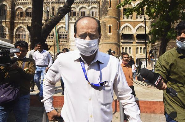 Explosives case: Mumbai cop Sachin Vaze dismissed from service