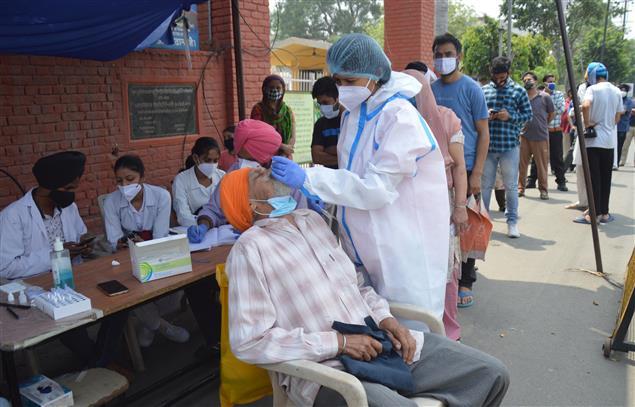 Ludhiana reports record 46 COVID deaths