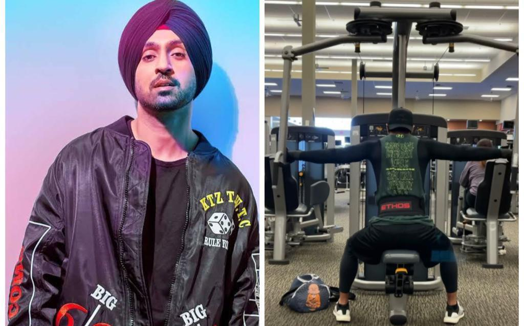 Diljit Dosanjh sets major fitness goals in latest Instagram video; fans long for 'gyms to reopen'