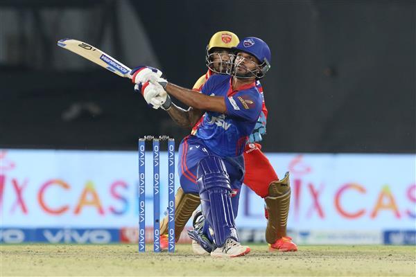 Dhawan stars in Delhi's dominant win over Punjab Kings