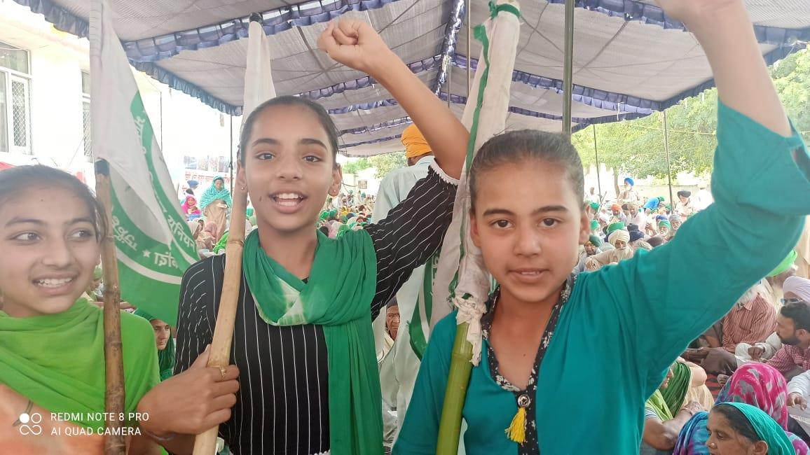 No school, minors mark attendance at protest sites