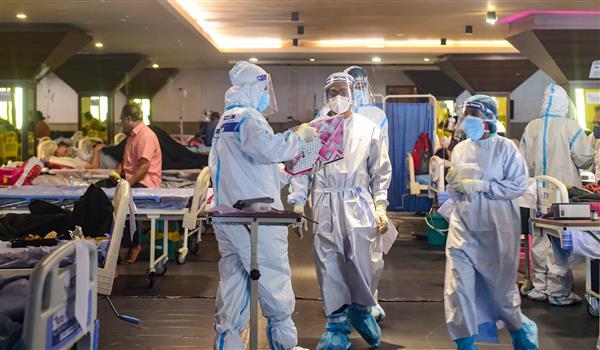 Delhi reports 13,287 new COVID cases, 300 more deaths