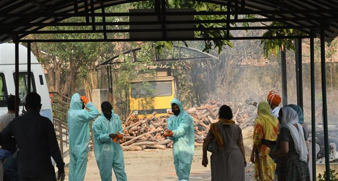 Covid: 2 more crematoriums earmarked  for victims in Patiala