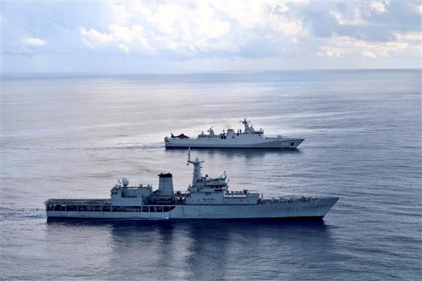 COVID-19: Indian naval ship brings oxygen to Mumbai from Qatar