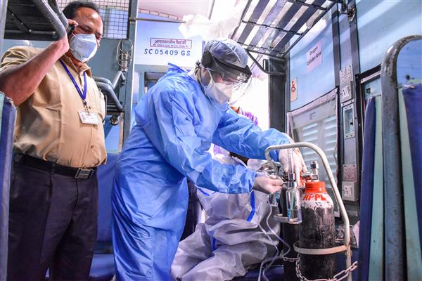 Oxygen Express: Delhi to receive 244 tonnes of oxygen on Wednesday