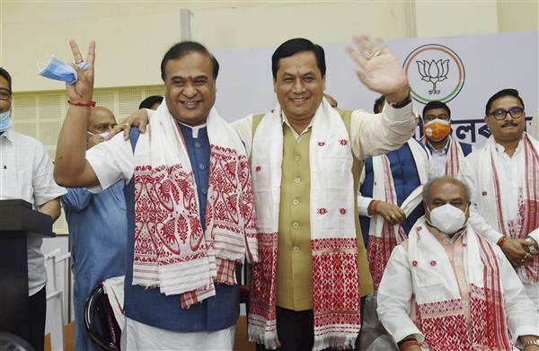 Himanta Biswa Sarma is new chief minister of Assam