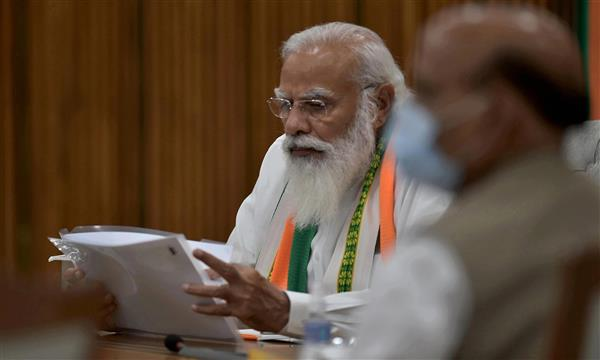 PM Modi speaks to CMs of Punjab, 3 other states on Covid situation