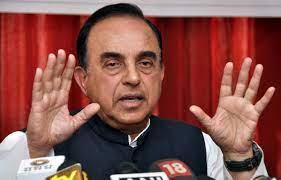 Swamy praises Gadkari, tells BJP to turn party office into hospital