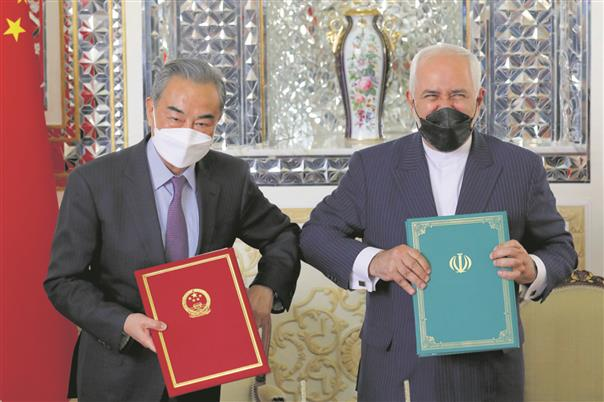China-Iran pact lays bare their ambitions
