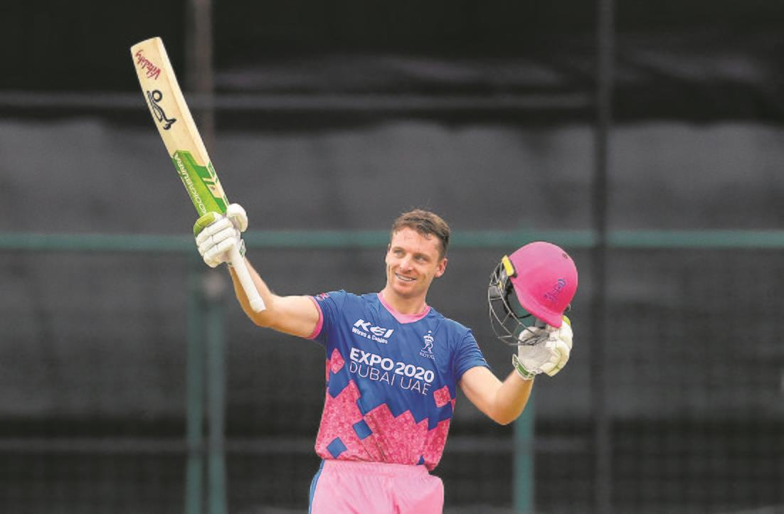 Royal Buttler: Englishman's 64-ball 124 powers Rajasthan to 55-run win over SRH