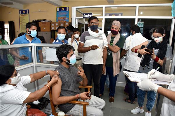Over 72 lakh COVID vaccine doses still available with states, UTs: Govt