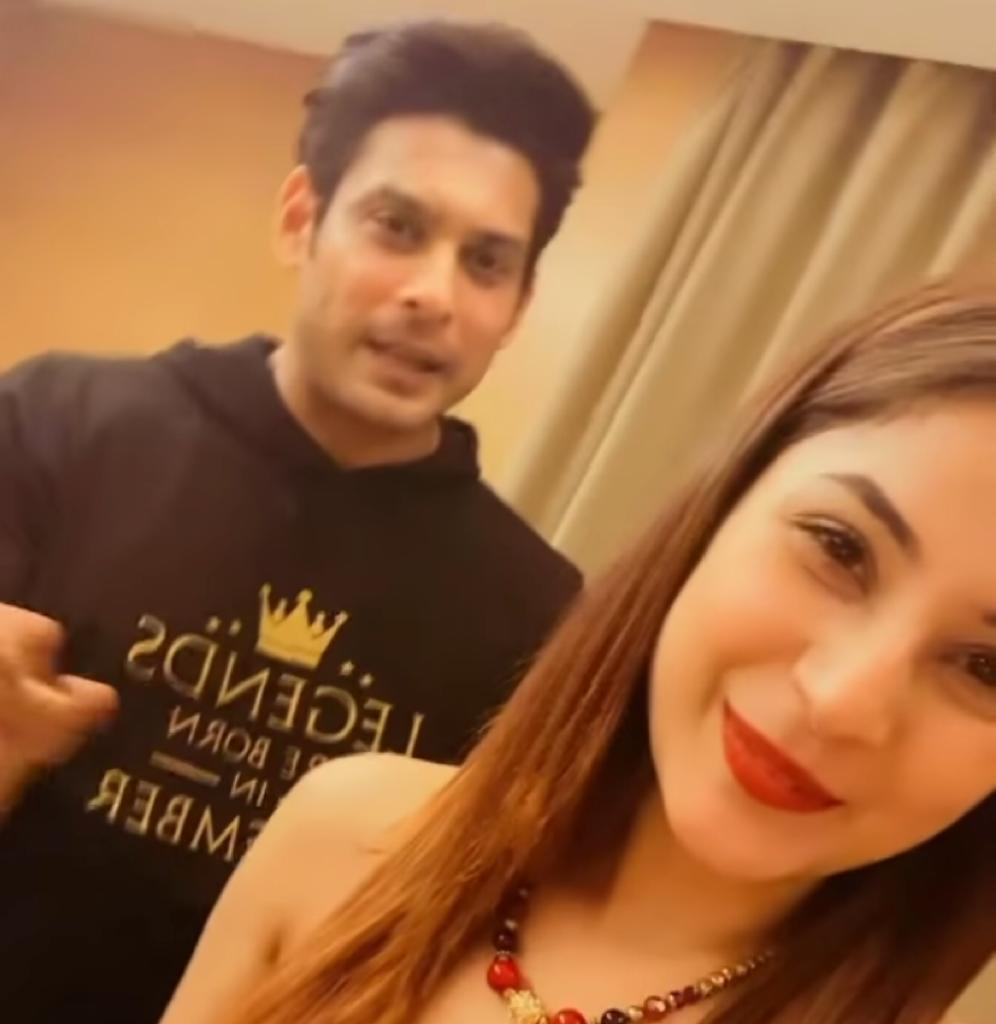 Shehnaaz Gill reaction on fans request to do a film with rumoured BF Sidharth Shukla; she blushes as 'SidNaaz' get complimented