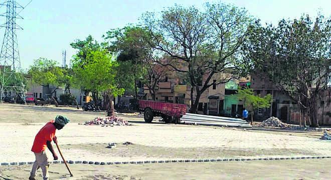 Patiala MC begins construction work on parking facility