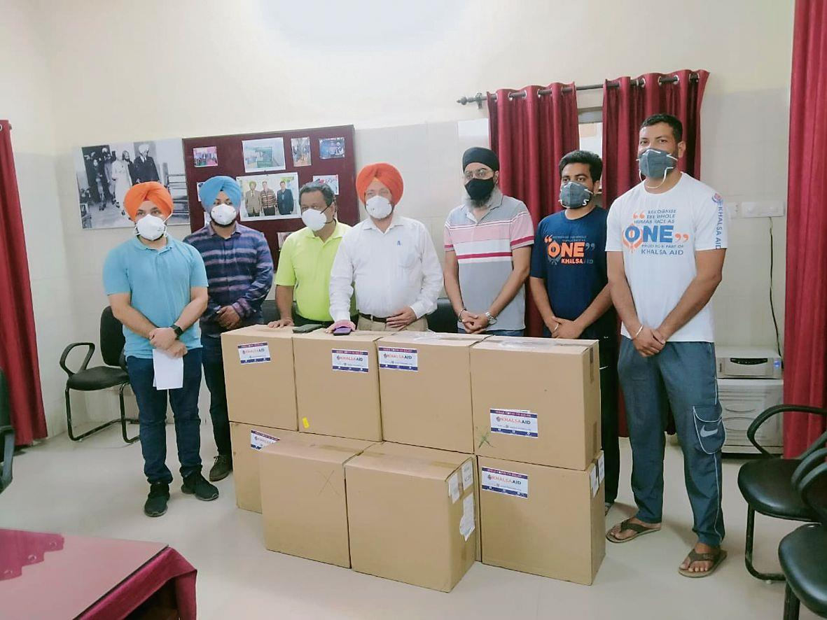 Oxygen concentrators donated