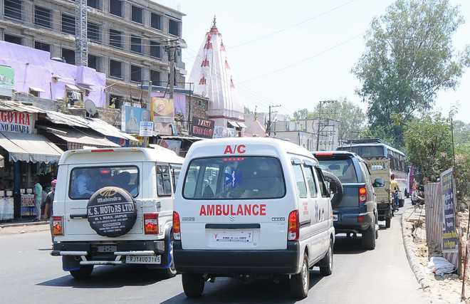 GPS tracking of ambulances for quick transfer of Covid patients to hospitals