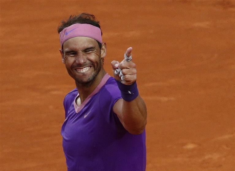 Rome won, Paris beckons Rafa Nadal