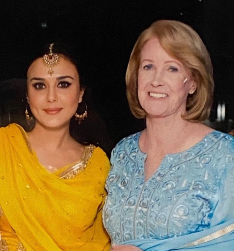 Instagram user taunts Preity Zinta over post with American mother-in-law, actor responds to troll