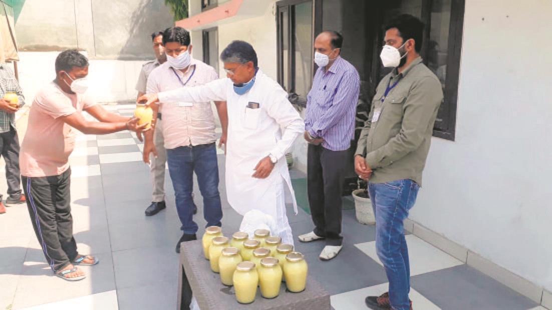 Immunity booster for sanitation staff