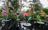 Kusama's dots, flowers breathe life into pandemic New York