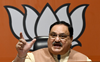 Nadda writes to Sonia Gandhi, asks her to stop creating 'false panic' over Covid