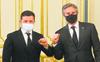 Blinken in Ukraine to show solidarity