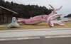 Japan town builds giant squid with COVID-19 relief funds