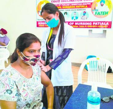 Patiala district grapples with vaccine shortage for 45+