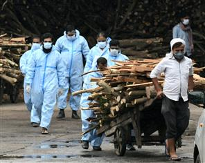 Record 4,529 Covid deaths reported in India in 24 hrs