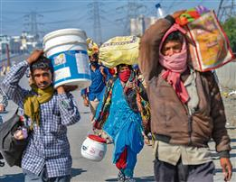 Provide food, ration for stranded migrants, Supreme Court tells Delhi, Uttar Pradesh and Haryana