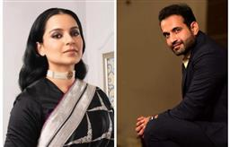 Irfan Pathan takes a dig at Kangana Ranaut for 'spreading hate'; adds 'my tweets are for humanity'