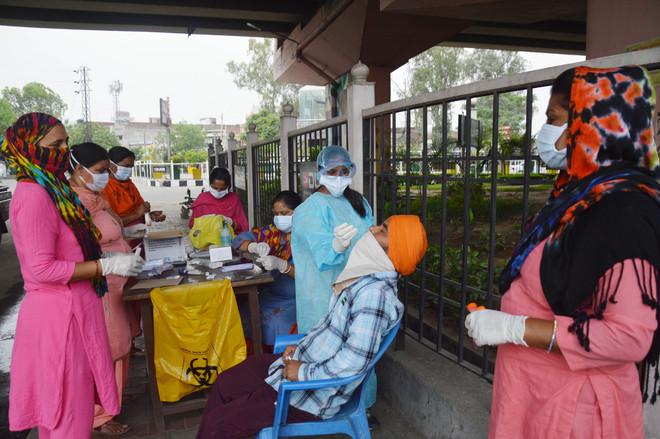 Highest single-day spike; 1,600 +ve in Ludhiana