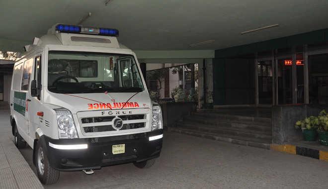 Ambulance service flagged off in Gurugram