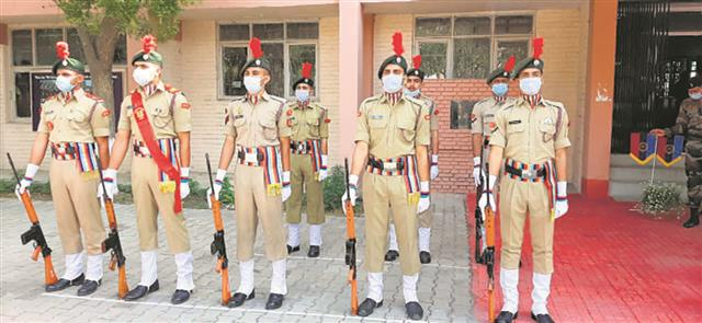 Cadets can choose NCC as elective subject
