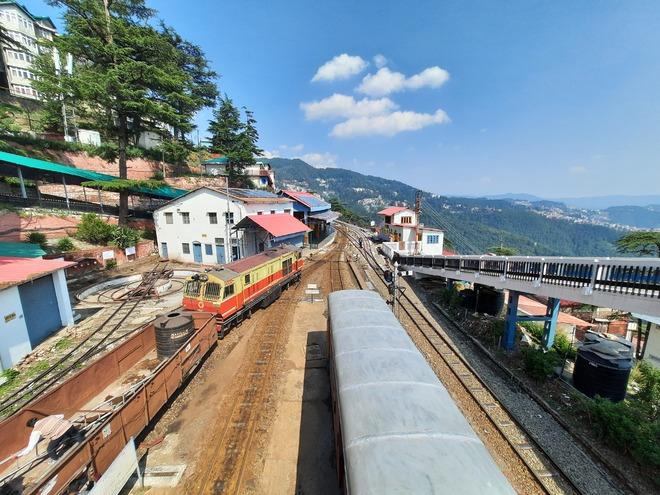 10 trains cancelled on Kalka-Shimla track