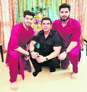 Rohit Choudhary is a doting father as well as a mother to his kids