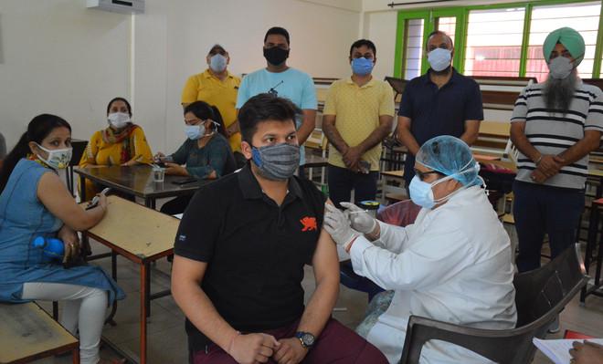 11, 552 vaccinated in Ludhiana district