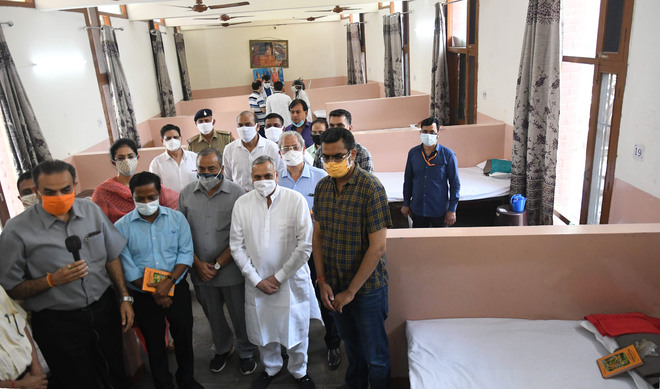 Chandigarh gets two Covid care centres with 50 beds each