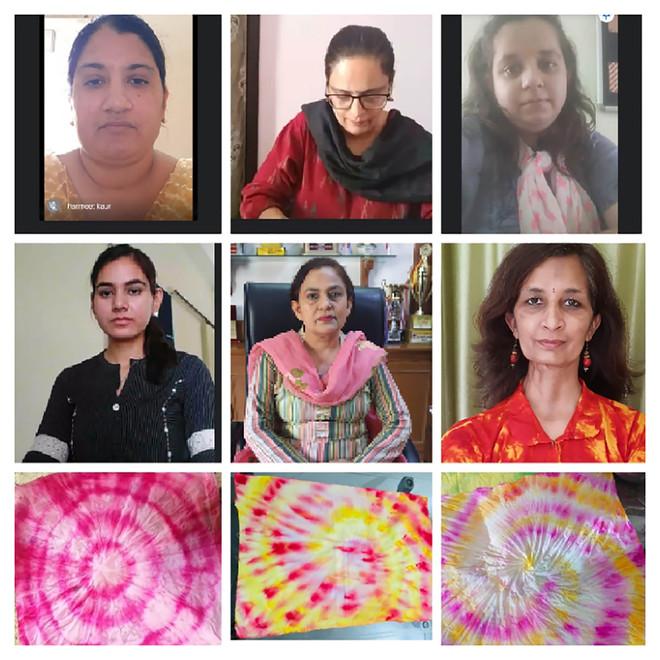Online fevicryl workshop organised