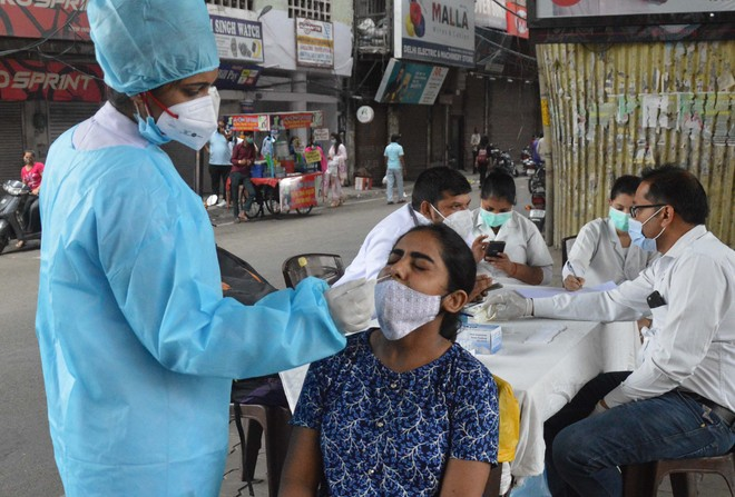 28 die of Covid, 1,215 +ve in Ludhiana district