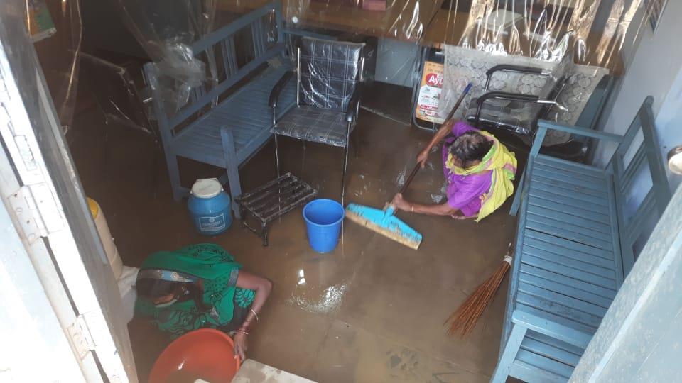 Rainwater woes for Sangrur dispensary