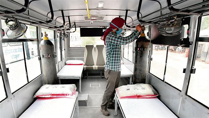 Panchkula sees record 8 deaths in a day, 593 test positive