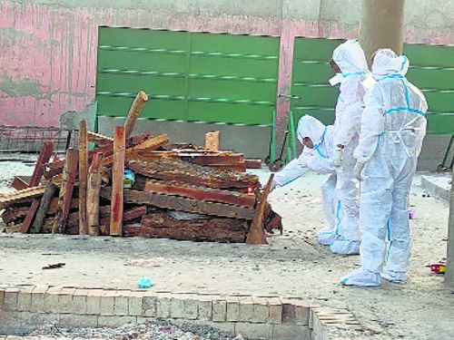 It's terrible to cremate 20 bodies a day, say safai karamcharis