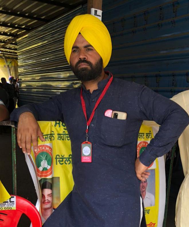 Tarpreet Singh Uppal: 'Will protest till Centre buckles under pressure'